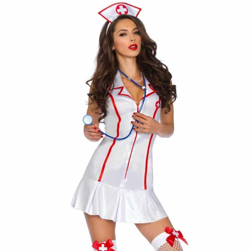 Costume infermiera sexy - Travestimenti sexy - Costumi e lingerie